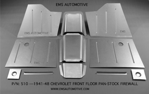 FRONT FLOOR PAN KIT FOR STOCK FIREWALL