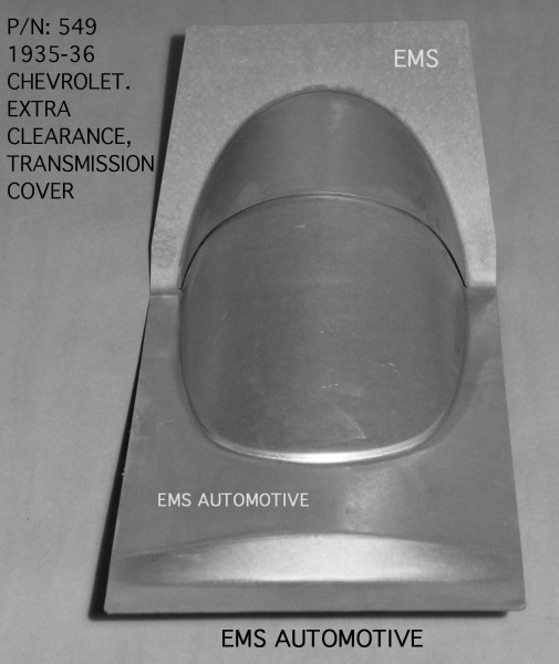 OVERSIZED TRANSMISSION COVER