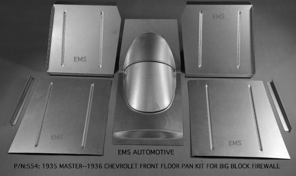 FRONT FLOOR PAN KIT FOR BIG BLOCK FIREWALL