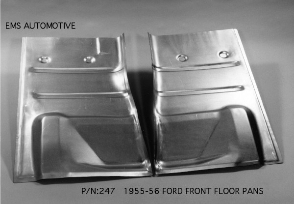 1940 Ford Floor Pans