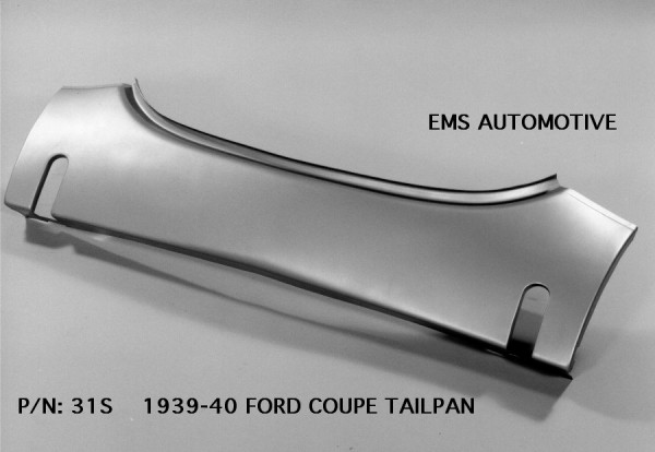 EMS TAILPAN WITH BUMPER SLOTS