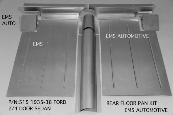 REAR FLOOR PAN KIT