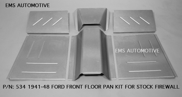 FRONT FLOOR PAN KIT- UNIVERSAL