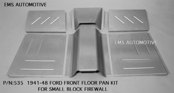 FRONT FLOOR PAN KIT-FOR  SMALL BLOCK FIREWALL